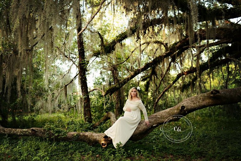 Maternity session in Crawfordville, FL